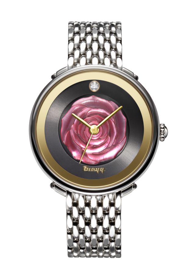 LA ROSE Rouge 38mm quartz watch