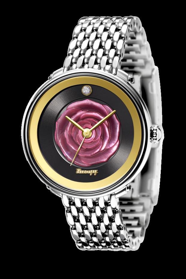 LA ROSE Rouge 38mm quartz watch